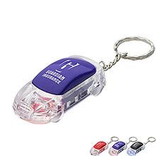Flashing LED Car Key Chain
