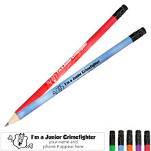 I'm a Junior Crimefighter Mood Pencil