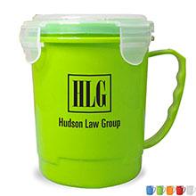 Soup Mug w/ Locking Silicone Lid
