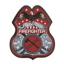 Junior Firefighter Badge, Full Color Direct Print