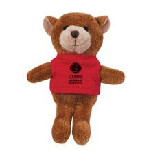 Bear Wild Bunch Plush Magnet