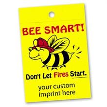 Custom Litterbag, Bee Smart! Don't Let Fires Start