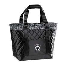 Satin Paisley Cooler Tote