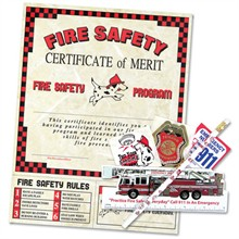 Fire Safety Classroom Kit , Stock