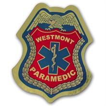 Junior Paramedic Foil Sticker Badge, Custom