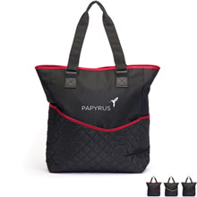 By-My-Side Quilted Microfiber Travel Bag