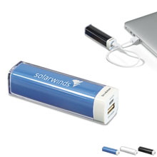 Brookstone® Surge Power Bank, 2200 mAh