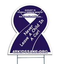 Awareness Ribbon Yard Sign