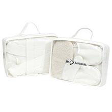Cotton Bathrobe & Slipper Gift Set