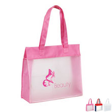Cosmo Frosted PEVA Shopping Tote