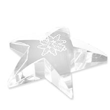 Radiant Star Paperweight