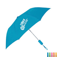 "Arc Neon Telescopic Folding Umbrella, 42"" Arc"