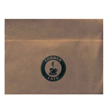 Biodegradable Kraft Dispenser Napkin, 1 Ply