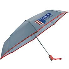 "New Balance® Auto Open/Close Folding Umbrella, 42"" Arc- Closeout, On Sale!"