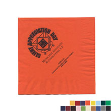 Colored Luncheon Napkins, 2 Ply