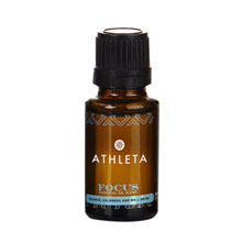 Focus Essential Oil Amber Dropper Bottle, 15ml.