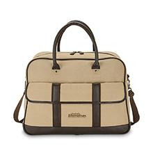 "Andover Canvas Executive Duffel Bag, 19-1/2"""