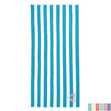 Turkish Signature Cabana Stripe Basic Weight Beach Towel, 10.5 lbs.