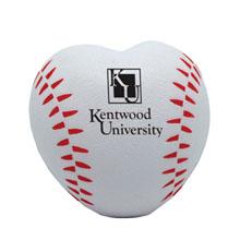 Baseball Heart Stress Reliever