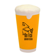 Beer Pint Glass Stress Reliever