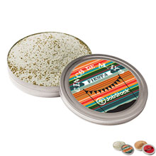 Cocktail Rimming Salt Tin, 4oz.