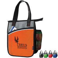 Koozie® Vertical Laminated Non-Woven Lunch Kooler - Free Set Up Charges!