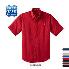 CornerStone® SuperPro™ Twill Men's Short Sleeve Shirt