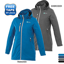 Ansel Ladies' Lightweight Waterproof Jacket