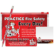 Practice Fire Safety Every Day Dalmatian School Kit