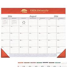 "Academic Desk Pad Calendar, 17"" x 22"""