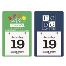 """Daily Date Calendar, 3-5/8"""" x 5-5/8"""""""