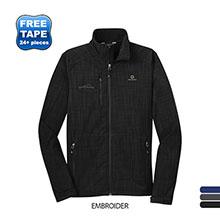 Eddie Bauer® Shaded Crosshatch Soft Shell Men's Jacket