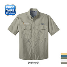 Eddie Bauer® Short Sleeve Men's Fishing Shirt