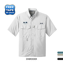 Eddie Bauer® Performance Short Sleeve Men's Fishing Shirt