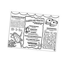 "Color Me Placemat, 9"" x 12"""