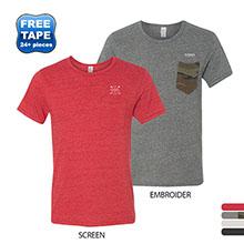 Alternative® Eco-Jersey Pocket Crew Men's Tee