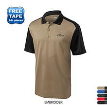 CornerStone® Select Snag-Proof Blocked Men's Performance Polo