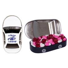 Car Tin w/ Candy Hearts