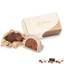 Puro Belgian Chocolate Truffle Gift Box, 2 Pcs