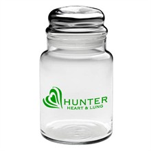 Apothecary Jar with Dome Lid, 26 oz.