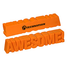 Awesome Word Orange Stress Reliever