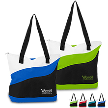 Bermuda Polycanvas Tote - Free Set Up Charges!