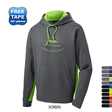 Sport-Tek® Sport-Wick® Colorblock Men's Performance Kanga Hoodie