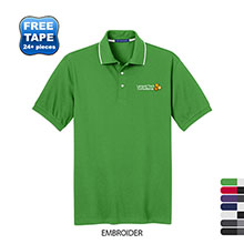 Port Authority® Rapid Dry™ Tipped Men's Performance Polo