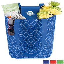 Foldable Pattern Tote - Free Set Up Charges!