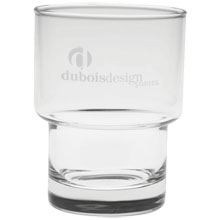 Bergen On The Rocks Glass - Deep Etched, 10-1/2oz.