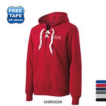 Sport-Tek® Lace Up Pullover Men's Hoodie