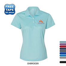 adidas® Golf ClimaLite® Basic Performance Pique Ladies' Polo