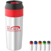 Virgo Stainless Steel Tumbler, 17oz. - Free Set Up Charges!