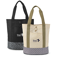 Abigail Fashion Denier Tote - Free Set Up Charges!